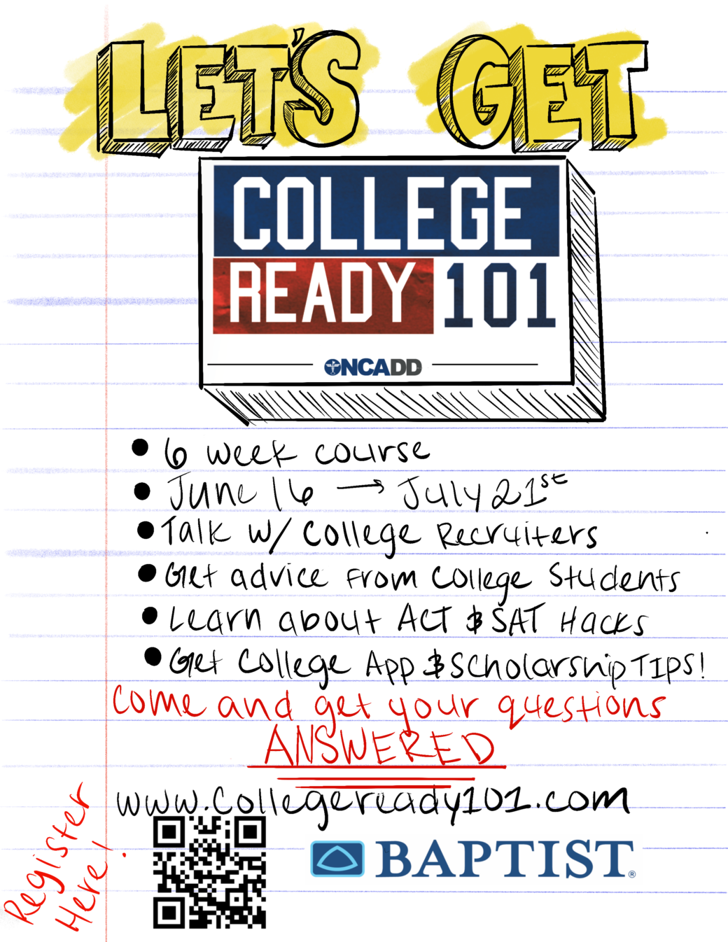 www.COLLEGEREADY101.com