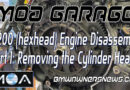 R 1200 GS tear down continues with cylinder head removal