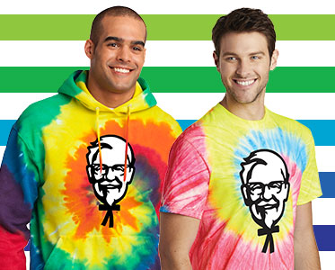 Tie Dye is Cool with the Colonel (and your brand too!)