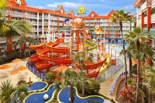 what to do at Nickelodeon Hotel