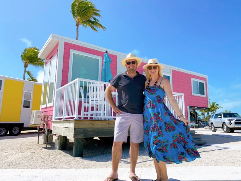 renting a tiny house in the Florida Keys