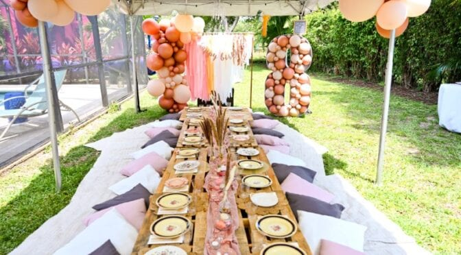 How to Host a DIY Boho Picnic Party for a Birthday or Baby Shower