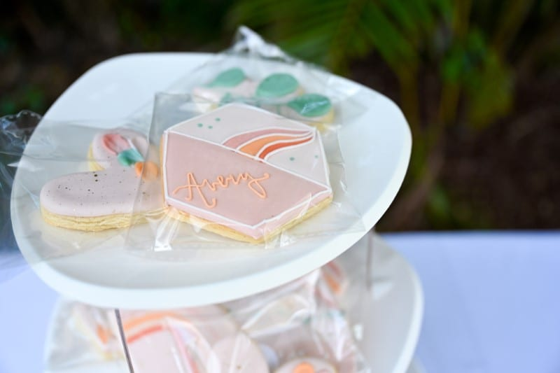 DIY boho pallet picnic with treats by Sugar Cookies by Anne
