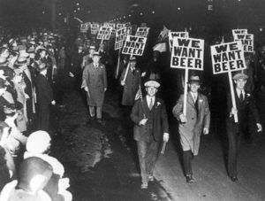 Except for the annual Macy's Day Beer Parade. We never miss that.