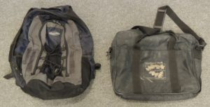 """I have also used an old backpack and a soft sided """"briefcase"""" that was a freebee when I attended some training in Overland Park KS."""