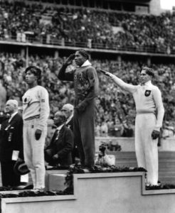 And that worked out well for Hitler because of his deep abiding love for subhuman non-Aryan black people like Jesse Owens who took the podium instead.