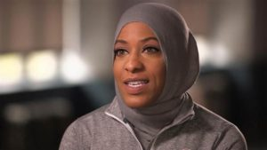 Look, I'm wearing a hijab. It's a hijab. Really a hijab. A hijab. Look. It really is.