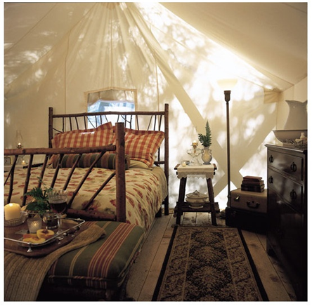 The North River Hobby Farm, Glamping