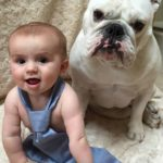 Bella with the baby - how adorable!