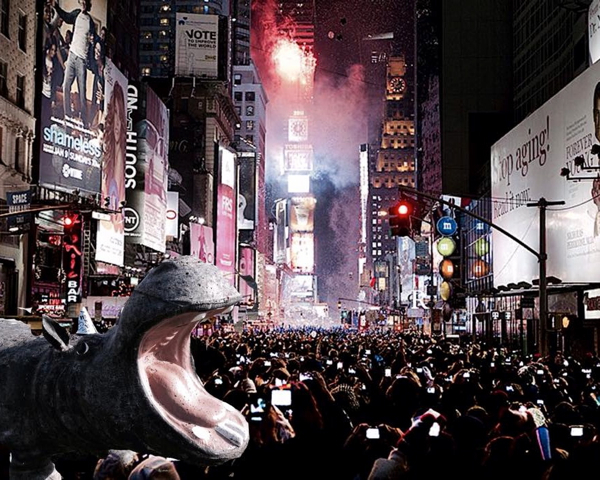 New Year's Eve in Times Square Etta