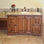 traditional bathroom sink vanity