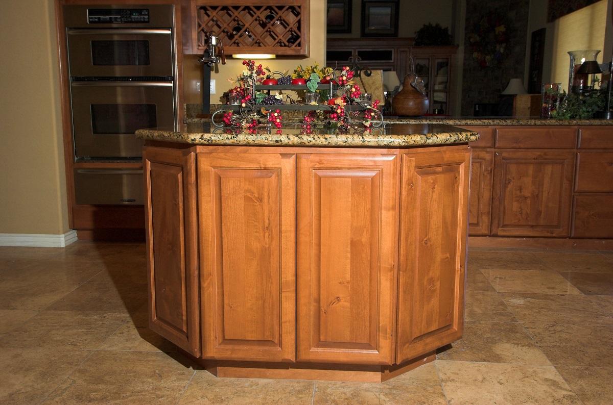 custom traditional kitchen island