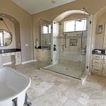 Gold Canyon Mountain Retreat Rustic Contemporary elegant bathroom