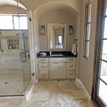 Gold Canyon Mountain Retreat Rustic Contemporary bathroom