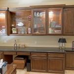 Phoenix Blackstone Custom Transitional office cabinets