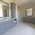 Contemporary elegant bathroom