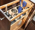 Rev-A-Shelf custom kitchen organizer