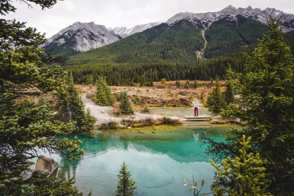 Johnston Canyon and Ink Pots - travelwiththesmile