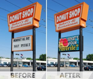 Is a New LED Sign a Good Investment