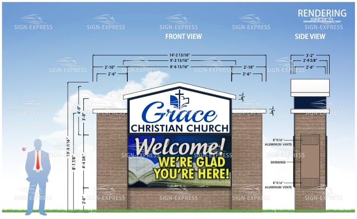 Monument Church LED Signs