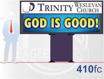 Affordable LED Sign Eagle 410 Full Color