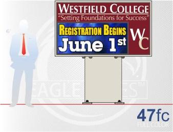 Affordable Sign Eagle 47 Full Color