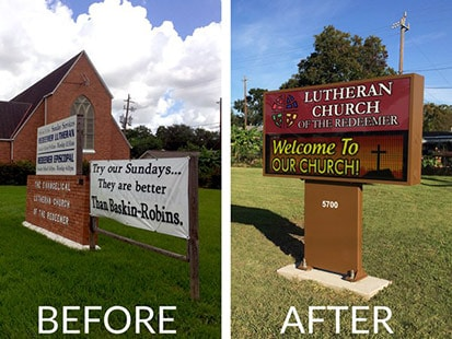 LED Church Signs