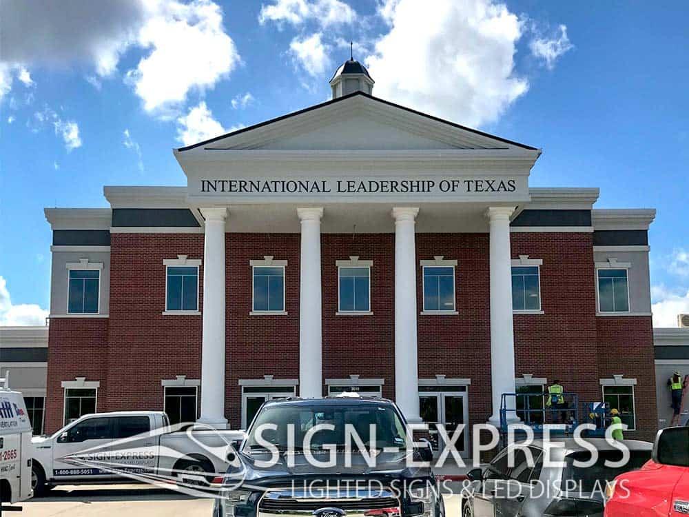 International-Leadership-of-Texas-Custom-Letter-Signs