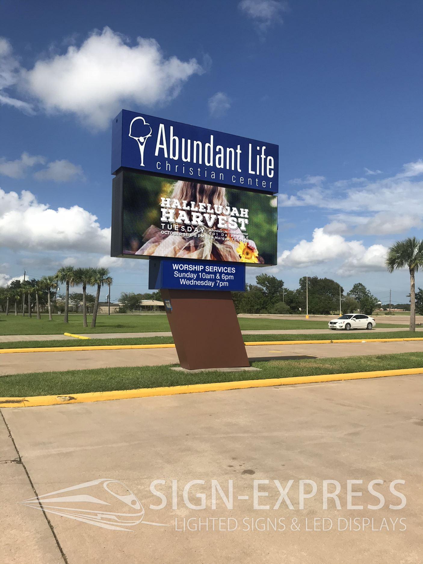 Abundant-Life-Christian-Center-Church-LED-Billboard