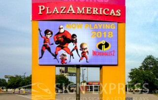 PlazAmericas Mall LED Billboard