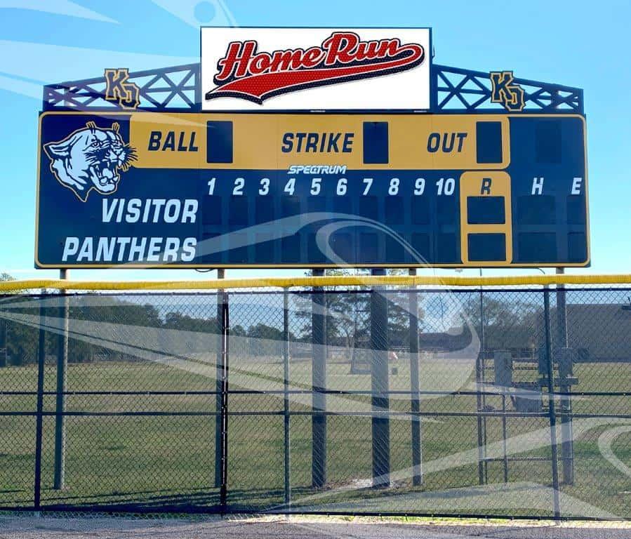 Klein Oak High School Scoreboard LED Sign