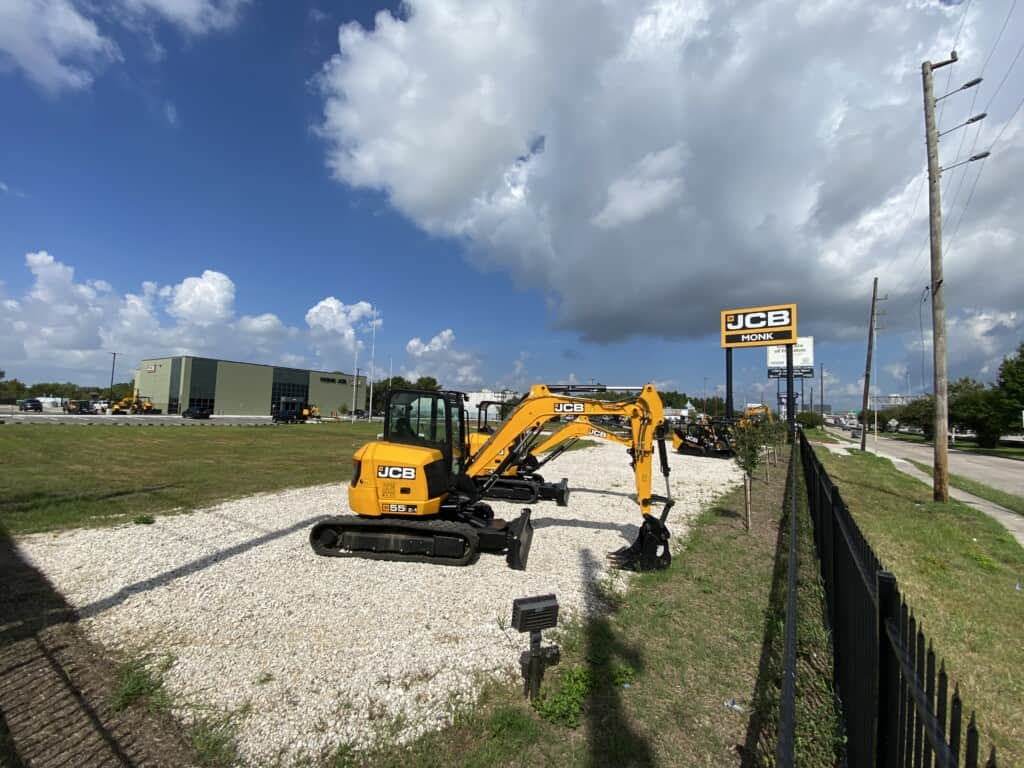 Monk JCB Total Business Sign Package – Houston, TX