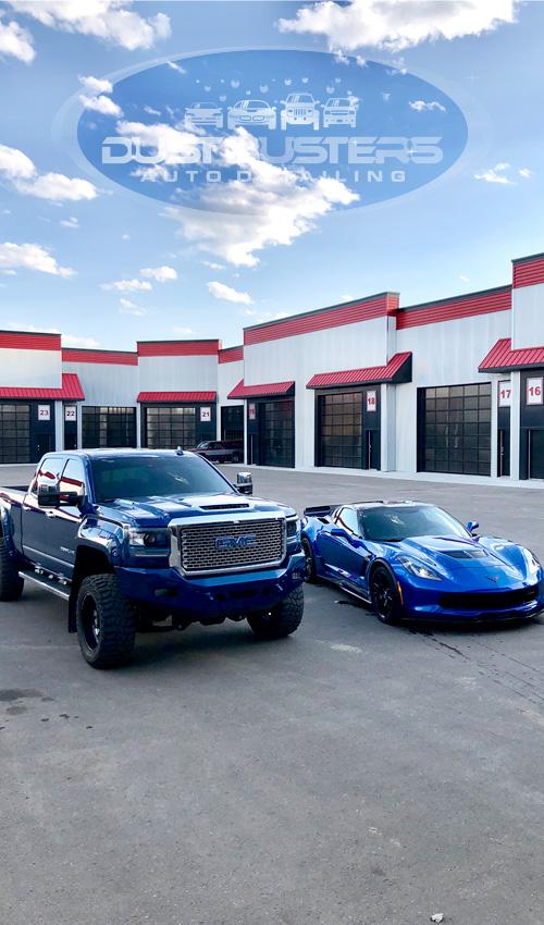 Dustbusters Auto Detailing Homepage Testimonials, Red Deer, Alberta