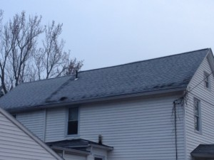 Well insulated roof but, details at wall top plate missed
