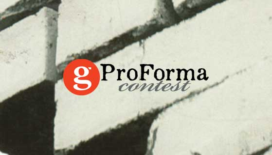 Grist Journal's Pro Forma Writing Contest