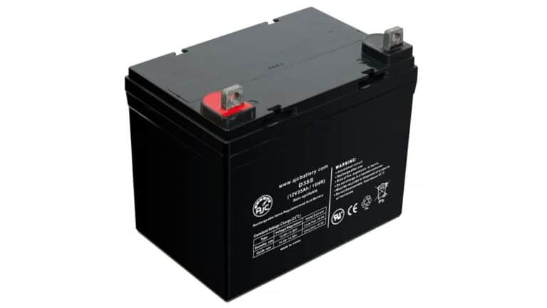 Mobility Scooter Battery 12 Volt 33 Ah & 55 Ah