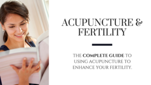 Acupuncture for fertility help