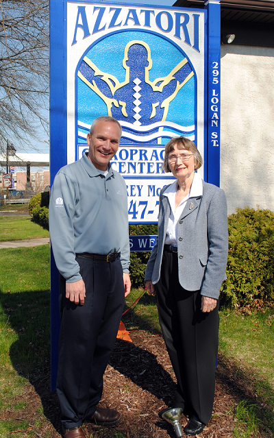 Doylestown Chiropractor with Doylestown Mayor