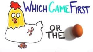 huevo o gallina