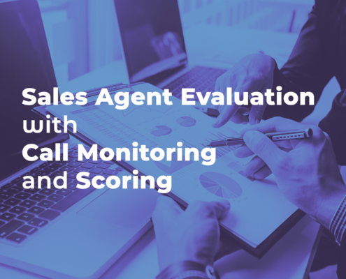 Sales Agent Evaluation with Call Monitoring and Scoring
