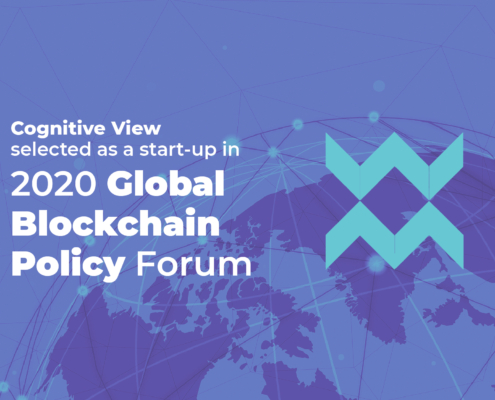 Cognitive View in 2020 OECD Global Blockchain Policy Centre