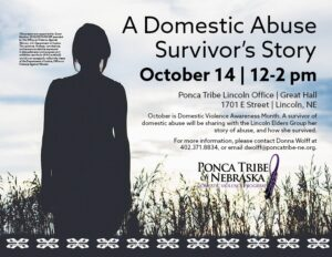 Read more about the article Domestic Violence program to host presentation by abuse survivor