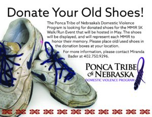 Read more about the article Shoe Donations Requested for MMIR Walk/Run