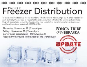 Read more about the article District 2 Freezer Distribution Update