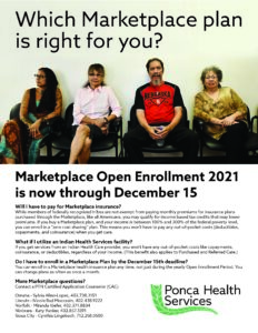 Read more about the article Marketplace Open Enrollment 2021 is now through December 15.