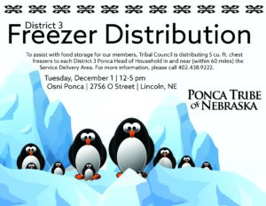 Read more about the article Additional Date for District 3 Freezer Distribution