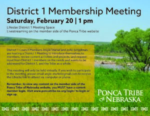 Read more about the article District 1 Virtual Membership Meeting