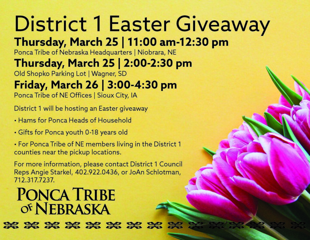 District 1 Easter Giveaway