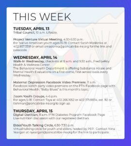 Read more about the article Events & Activities: April 11-17th