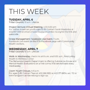Read more about the article Events & Activities: April 4 – 10